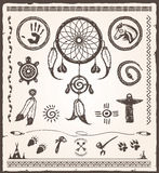 Native American Design Elements Royalty Free Stock Photo