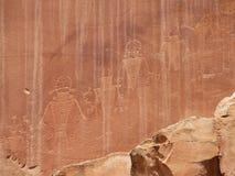 Native American drawings royalty free stock photos
