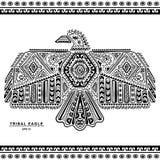 Native American eagle illustration Stock Photo