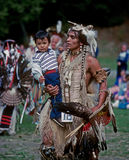 Native American family Stock Photos