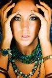 Native American Fashion model Royalty Free Stock Photos