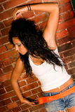 Native American Fashion model Stock Photos