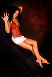 Native American Fashion model Stock Photo