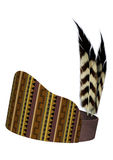 Native American Feather Headdress Royalty Free Stock Image