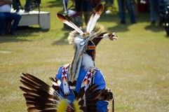 Native American feather headress Royalty Free Stock Images