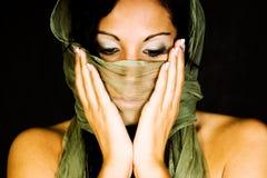 Native american female fashion model Royalty Free Stock Image