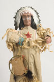 Native American figure Royalty Free Stock Image