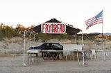 Native American Frybread Roadside Trading Post, nr Sedona, AZ, U Royalty Free Stock Images