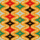 Native american geometric pattern Stock Image