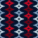 Native american geometric pattern Royalty Free Stock Photo
