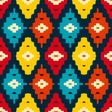 Native american geometric pattern Stock Photography
