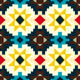 Native american geometric pattern Royalty Free Stock Photography