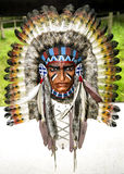 Native American Headdress Stock Photography