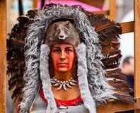Native American headdress Royalty Free Stock Photos