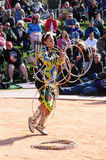 Native American Hoop Dance World Championship royalty free stock images