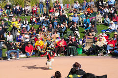 Native American Hoop Dance World Championship Royalty Free Stock Photos