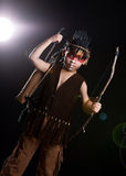 Native American Hunter Royalty Free Stock Photos