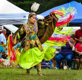 Native American Indian. YORKTOWN HEIGHTS, NY - SEPTEMBER 25: Native American Indian FDR Pow Wow on September 25, 2011 in Yorktown Heights Royalty Free Stock Image