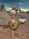 Native American Indian - Cheyenne Stock Images