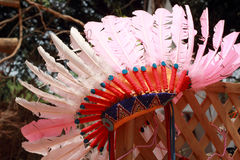 Native american indian chief headdress Stock Images