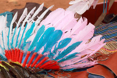 Native american indian chief headdress Stock Photography
