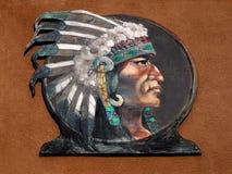 Native American Indian Chief Headdress, Navajo Ethnic royalty free stock photo