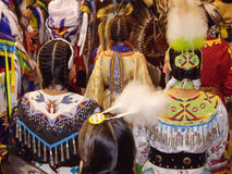 Native American Indian dancers Stock Image