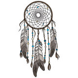 Native American Indian dreamcatcher Royalty Free Stock Photos