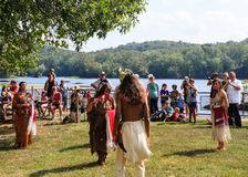 Native American Indian Festival Stock Photography
