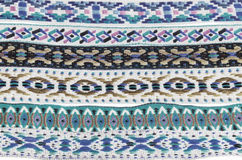 Native American Indian Headband Fabric Textures Royalty Free Stock Photo