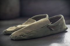 Native American Indian Moccasins Royalty Free Stock Photo