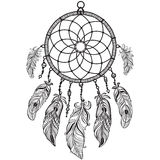 Native American Indian talisman dreamcatcher Stock Photos
