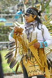 Native American Indian tribal group Stock Image