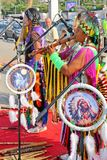 Native American Indian tribal group Royalty Free Stock Images