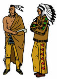 Native American Indians Royalty Free Stock Photo