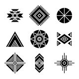 Native American Indians Tribal Symbols Stock Photo