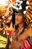 Native American man. LOS ANGELES, CA - May 9, 2010: Native American Indian man at the Los Angeles Pow Wow on May 9, 2010 Royalty Free Stock Photos