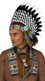 Native American Man Stock Images