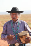 Native American man Royalty Free Stock Photos