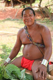 Native american man, medicine man  Stock Image