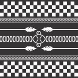 Native american pattern Royalty Free Stock Photography