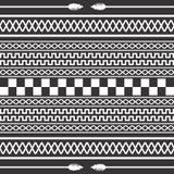 Native american pattern Stock Image