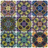 Native American patterns Stock Photos