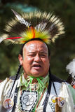 Native American performer Stock Photography