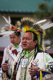 Native American performer Stock Images