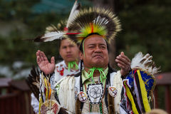 Native American performer Royalty Free Stock Images