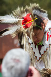 Native American performer Stock Photos
