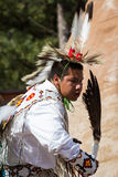 Native American performer Royalty Free Stock Photography