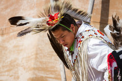 Native American performer Royalty Free Stock Photo