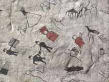 Native American pictograph Stock Photos